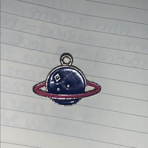 🆓 Planet OuterSpace Jewelry Charm Saturn Bracelet